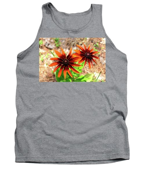 Tank Top featuring the photograph Masked by Larry Bishop
