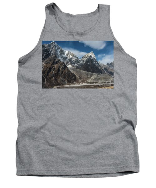 Tank Top featuring the photograph Massive Tabuche Peak Nepal by Mike Reid