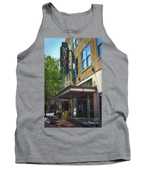 Tank Top featuring the photograph Mast General by Skip Willits