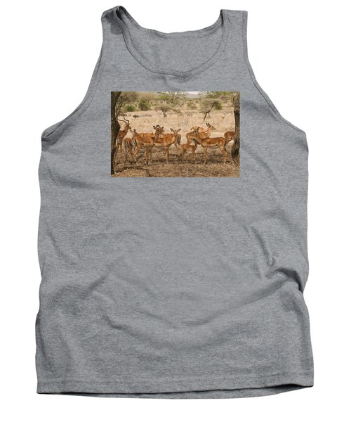 Master Of His Domain Tank Top by Gary Hall