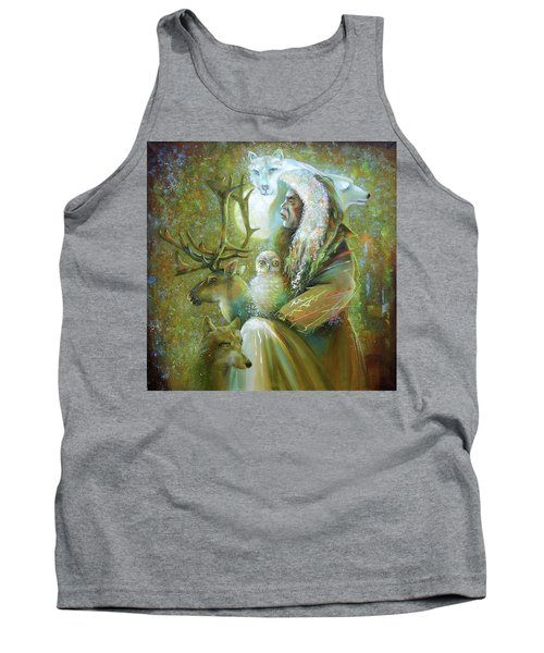 Master Of The Tundra. Tank Top