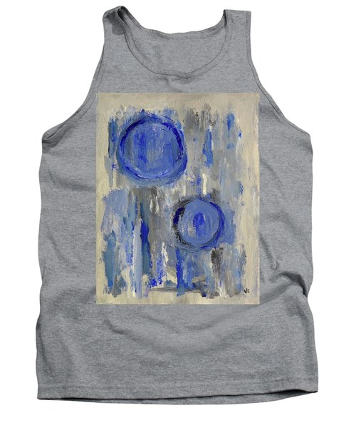 Tank Top featuring the painting Maternal by Victoria Lakes