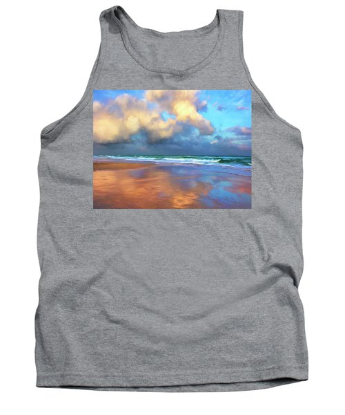 Maui Sunset Rain Tank Top