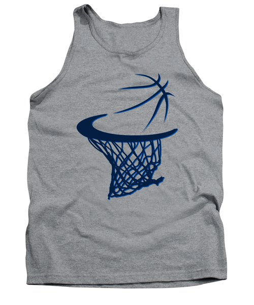 Mavericks Basketball Hoops Tank Top by Joe Hamilton