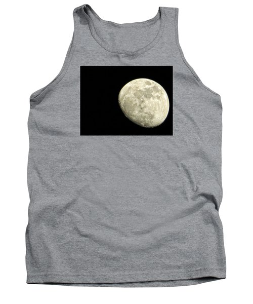 Tank Top featuring the photograph Me And The Moon Tonight by Nikki McInnes