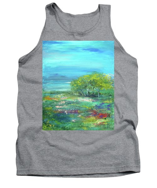 Meadow Trees Tank Top