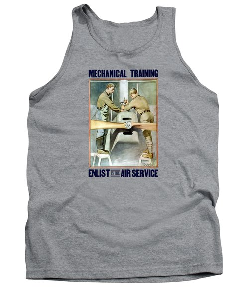 Mechanical Training - Enlist In The Air Service Tank Top