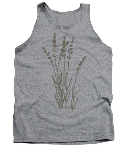 Medicinal Herb Lavender Tank Top