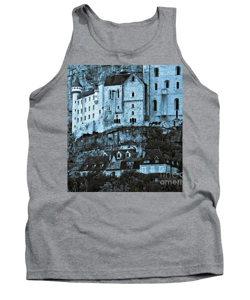 Medieval Castle In The Pilgrimage Town Of Rocamadour Tank Top