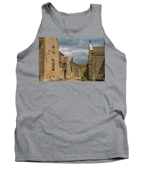Medieval Village In France Tank Top