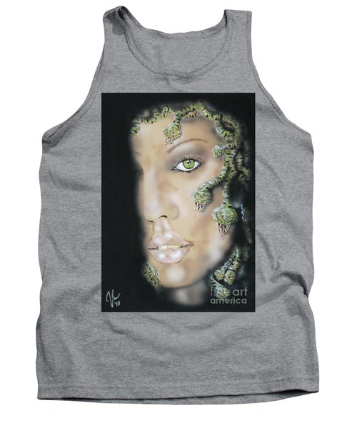 Medusa Tank Top by John Sodja