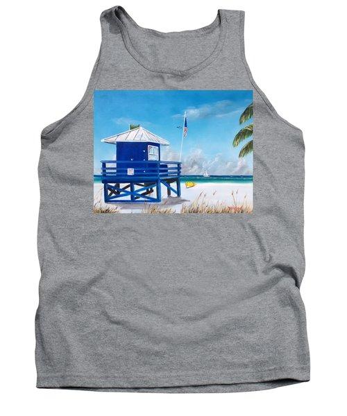 Meet At Blue Lifeguard Tank Top