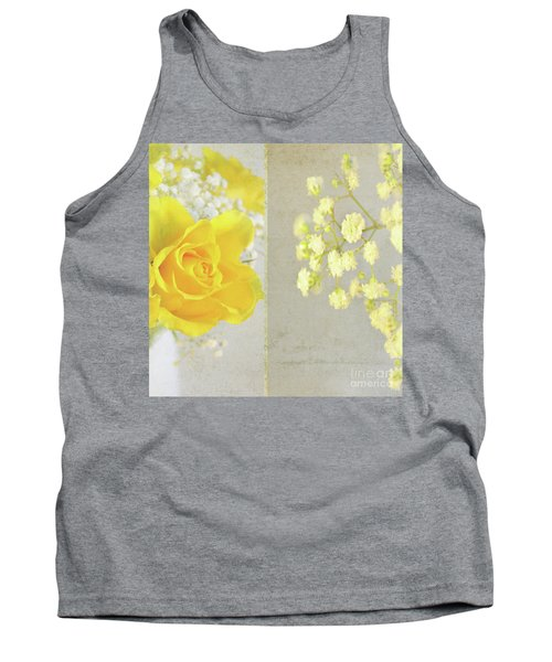 Tank Top featuring the photograph Mellow Yellow by Lyn Randle
