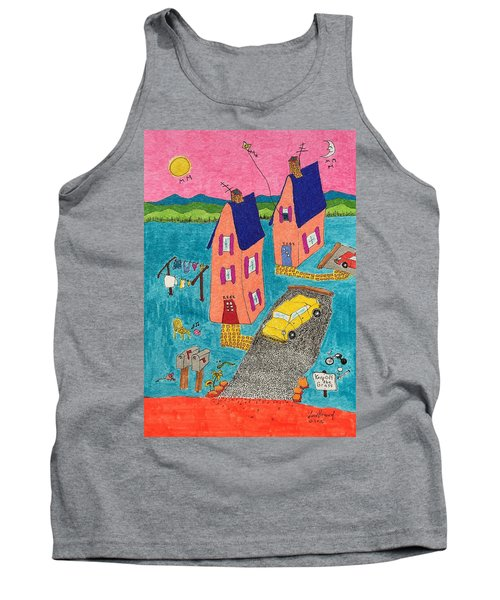 Melon Houses Tank Top