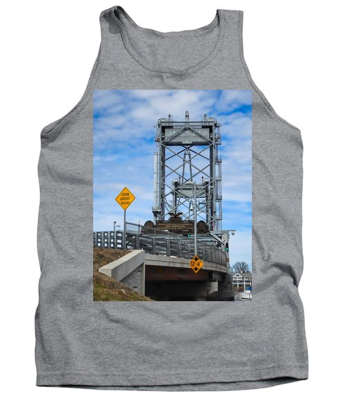 Memorial Bridge Portsmouth  Nh Tank Top