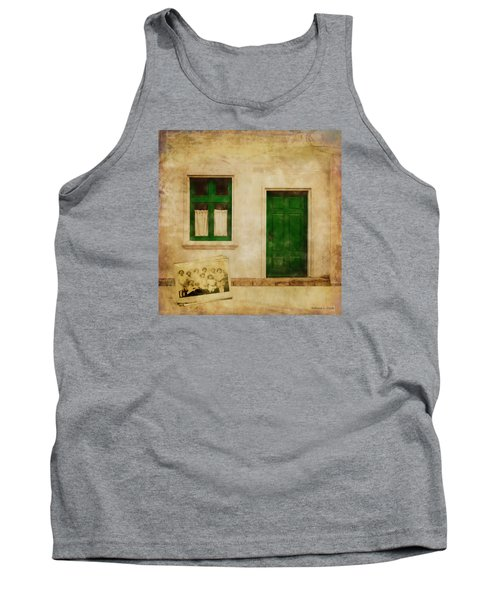 Tank Top featuring the painting Memories Of Irish Green by Bellesouth Studio