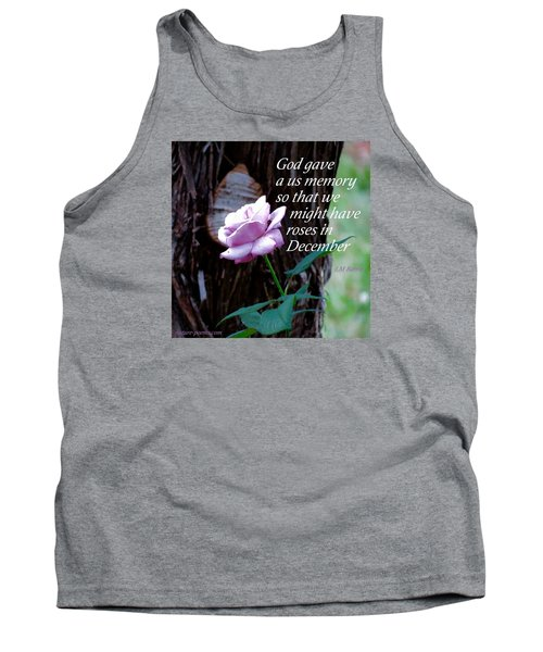 Tank Top featuring the photograph Memories Throughout  by David Norman