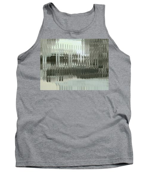 Tank Top featuring the digital art Memory Palace - Fading by Wendy J St Christopher