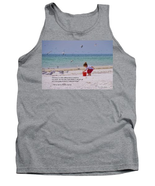 Tank Top featuring the photograph Memory by Peggy Hughes