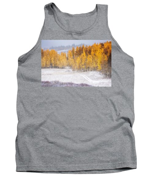 Tank Top featuring the photograph Merging Seasons by Kristal Kraft
