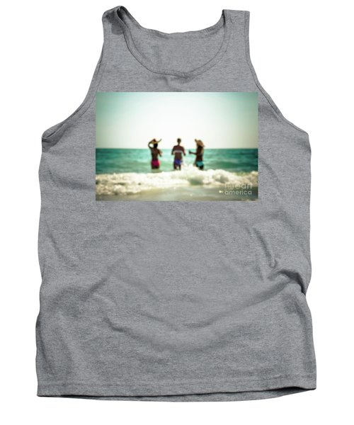 Tank Top featuring the photograph Mermaids by Hannes Cmarits