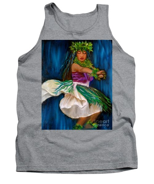 Merrie Monarch Hula Tank Top by Jenny Lee