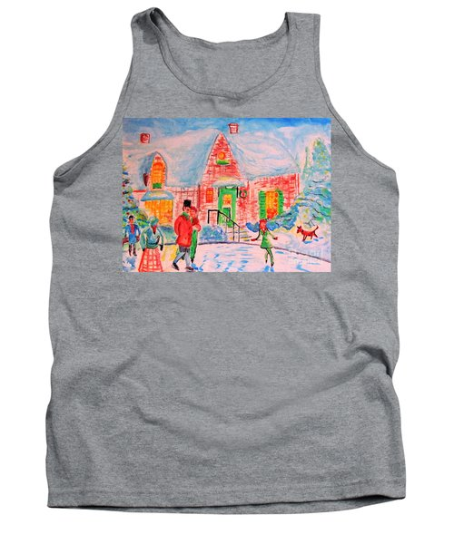 Merry Christmas And Happy Holidays Tank Top
