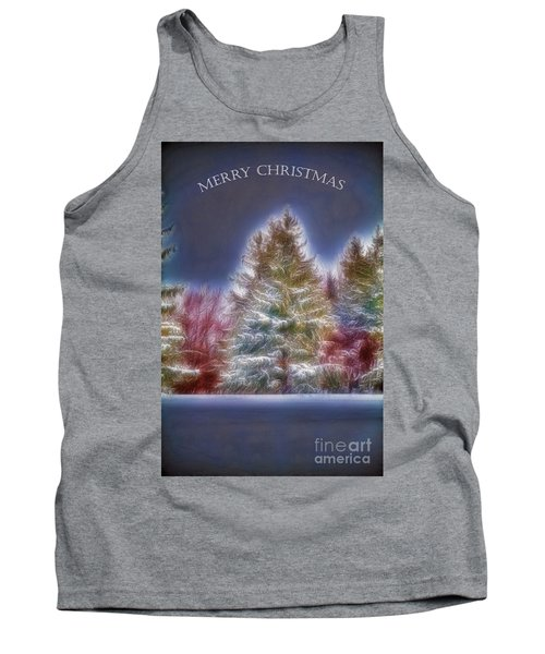 Tank Top featuring the photograph Merry Christmas by Jim Lepard