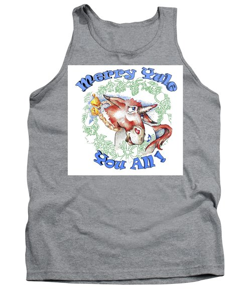 Real Fake News Merry Yule You All Tank Top