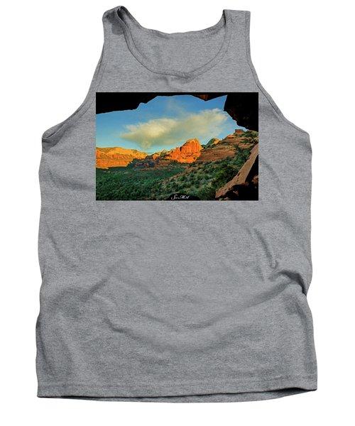 Mescal Mountain 04-012 Tank Top by Scott McAllister