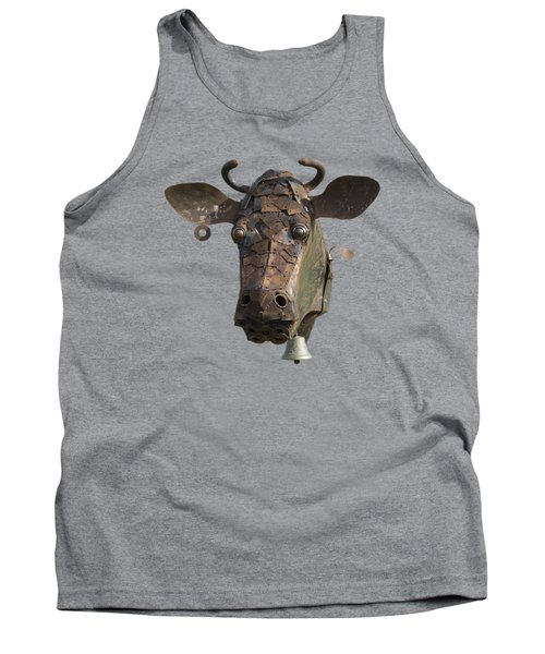 Metal Art Cow II Tank Top
