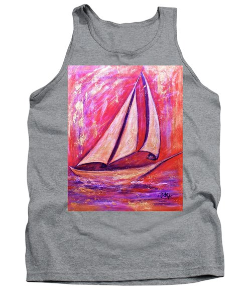 Metallic Sails Tank Top