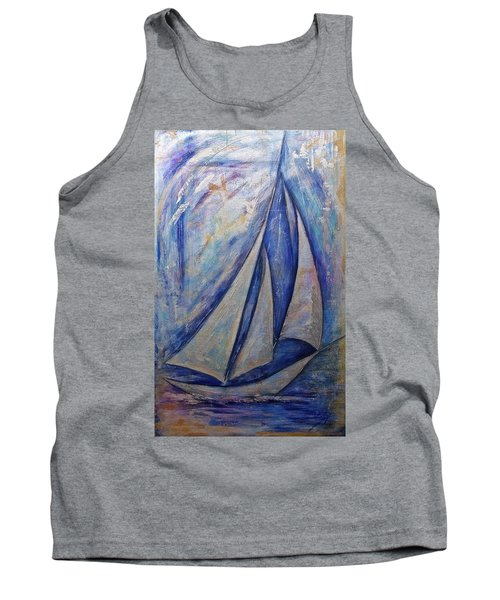 Metallic Seas Tank Top