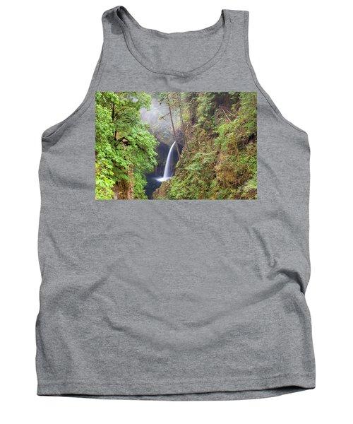Metlako Falls In Columbia River Gorge Tank Top