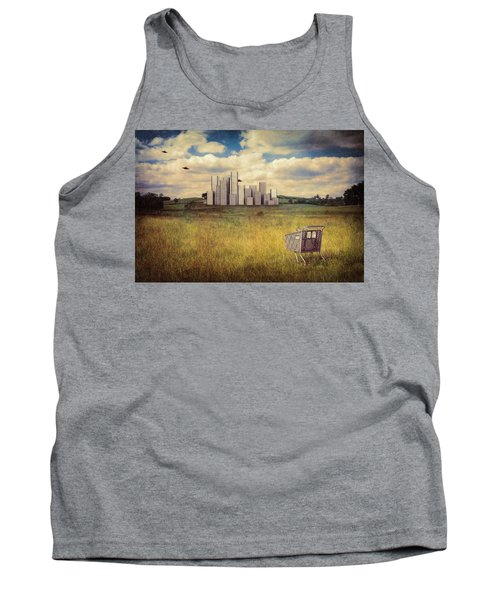 Tank Top featuring the photograph Metropolis by Tom Mc Nemar