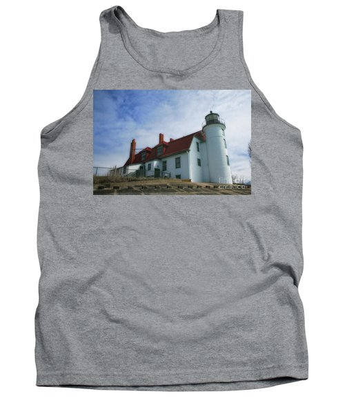 Michigan Lighthouse Tank Top by Gina Cormier