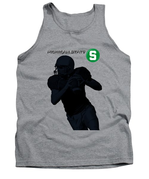 Michigan State Football Tank Top