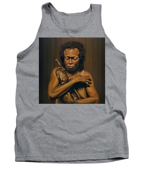 Miles Davis Painting Tank Top