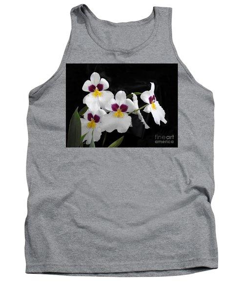 Miltonia Hybrid Orchid Tank Top