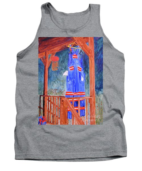 Miner's Overalls Tank Top by Sandy McIntire