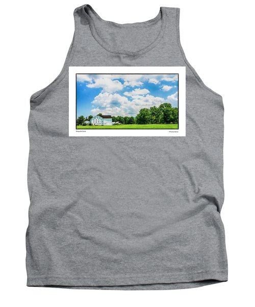Tank Top featuring the photograph Mingoville Clouds by R Thomas Berner