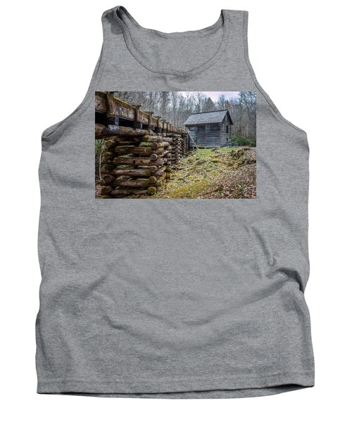 Mingus Millrace And Mill In Late Winter Tank Top