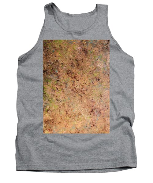 Tank Top featuring the painting Minimal 7 by James W Johnson