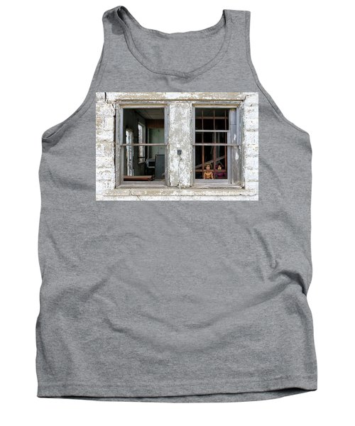 Tank Top featuring the photograph Minimum Security by Christopher McKenzie