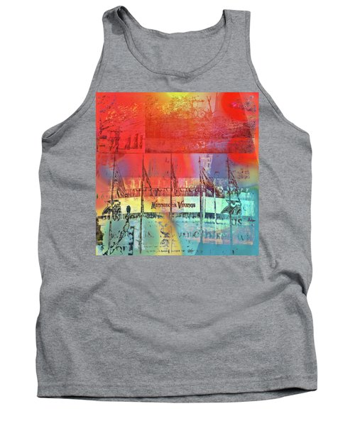 Tank Top featuring the photograph Minnesota Vikings Art by Susan Stone