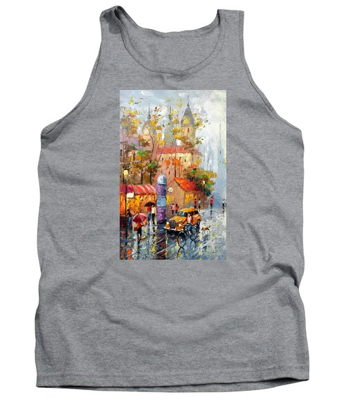 Tank Top featuring the photograph Minutes Of Waiting 2  by Dmitry Spiros