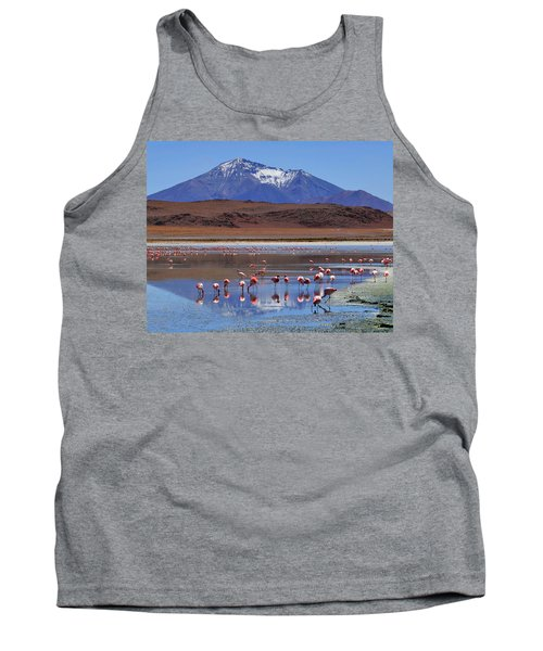 Tank Top featuring the photograph Mirage by Skip Hunt