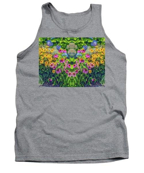 Flowers Pareidolia Tank Top