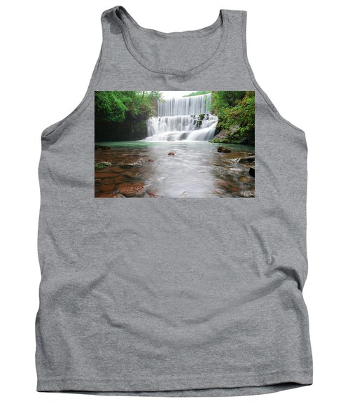 Tank Top featuring the photograph Mirror Lake Falls 2 by Renee Hardison