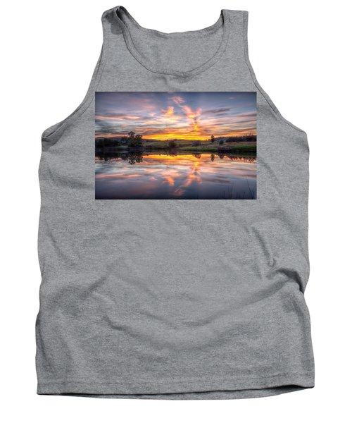Mirror Lake Sunset Tank Top
